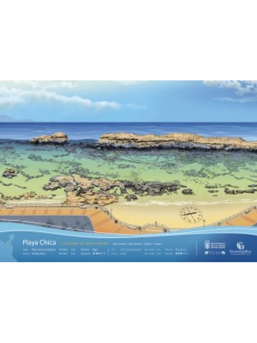 Infografía Playa Chica (GC)