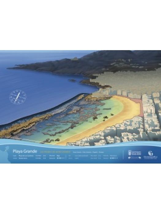 Infografía Playa Grande (GC)