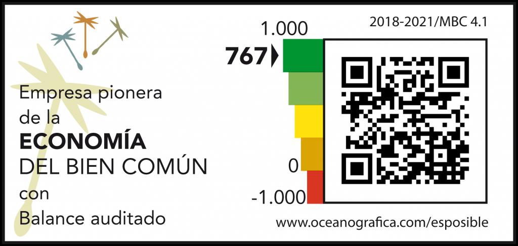 Actualizada la auditoría del Balance del Bien Común de Oceanográfica