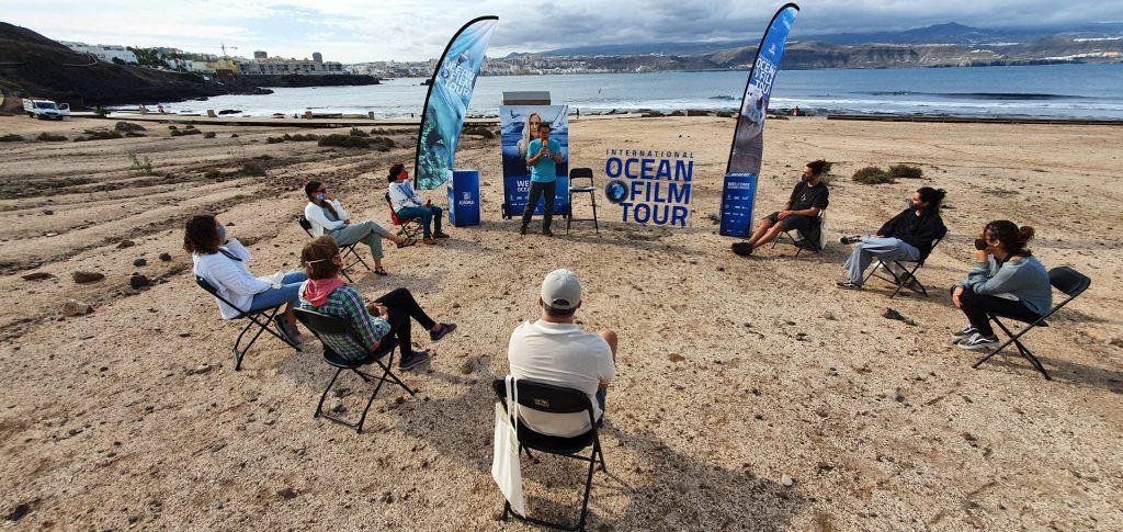 Ocean Film Festival, charla participación